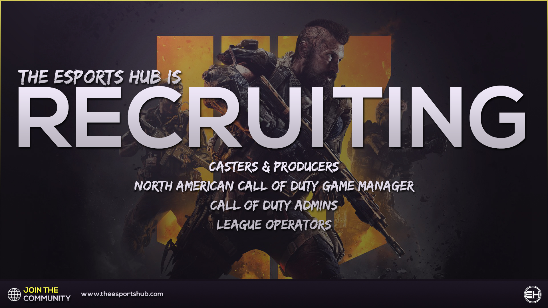 Welcome to The Esports Hub - Home of Competitive Gaming | #ESHUB